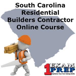 South Carolina PSI Residential Builder Contractor Prep Course