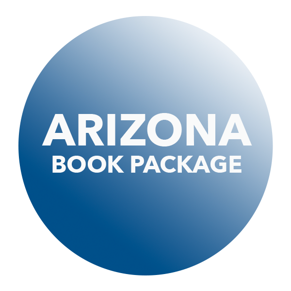 Arizona Statutes and Rules Book Package