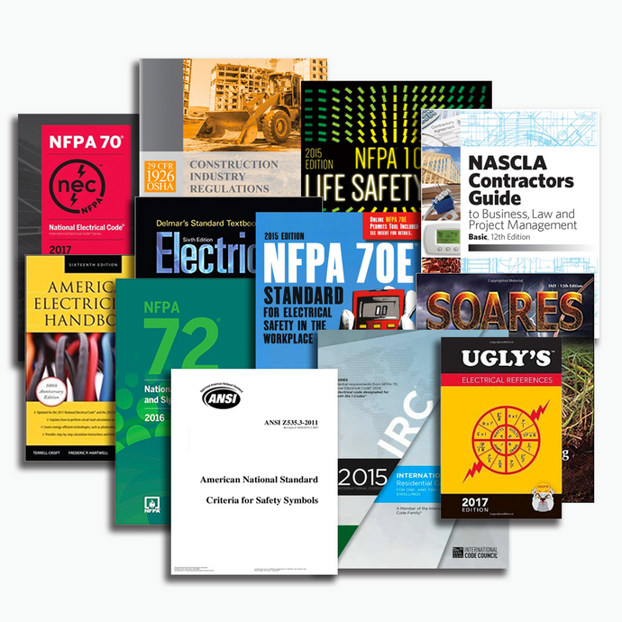 NASCLA Residential Electrical Contractor Book Package