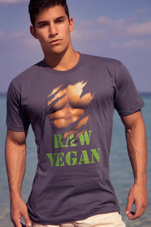 """Raw Vegan"" T-Shirt - vegan-styles"