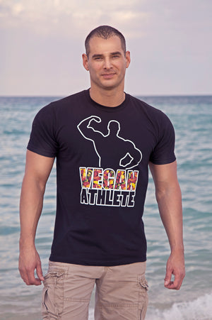 """Vegan Athlete"" T-Shirt - vegan-styles"