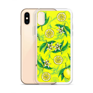 '' Lemons'' iPhone Case - vegan-styles