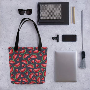 '' Watermelons'' Tote bag - vegan-styles