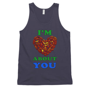 """I'm Nuts About You"" tank top (unisex) - vegan-styles"