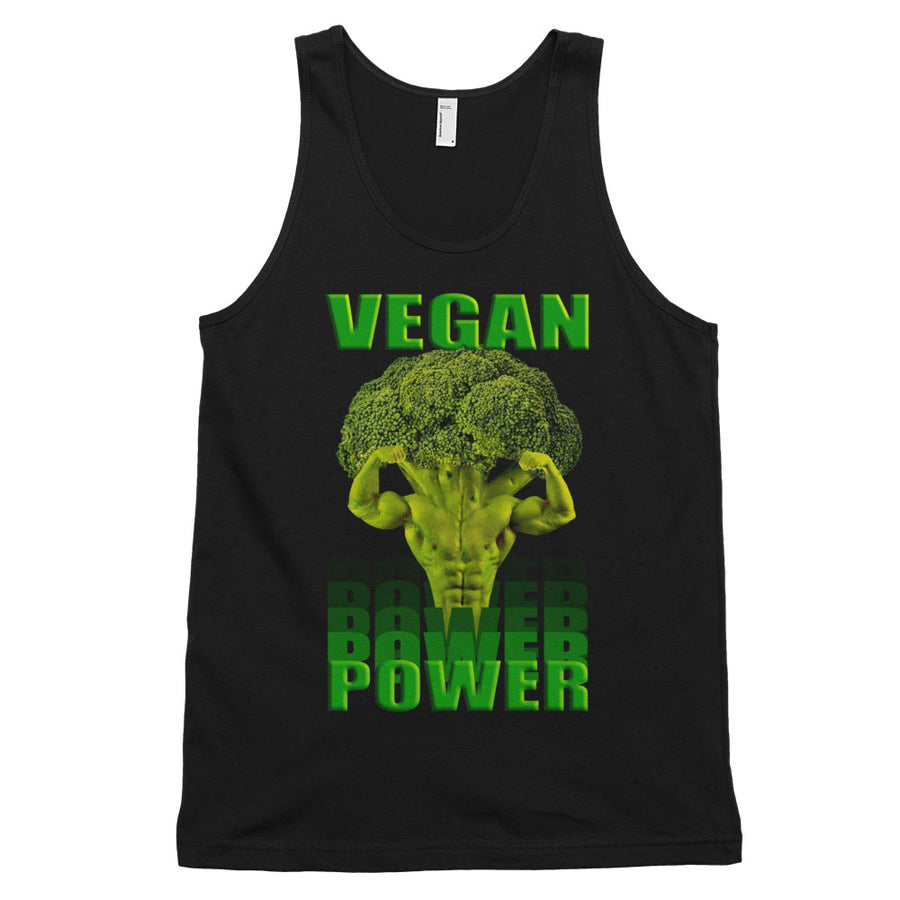 """Vegan Power"" tank top (unisex) - vegan-styles"