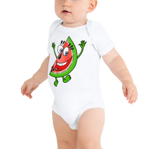 '' Watermelon'' baby bodysuit - vegan-styles