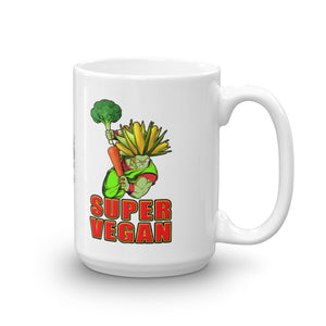 "Vegan-Styles ""Super Vegan"" Corn Ceramic Mug - vegan-styles"