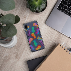 '' Pineapples'' iPhone Case - vegan-styles
