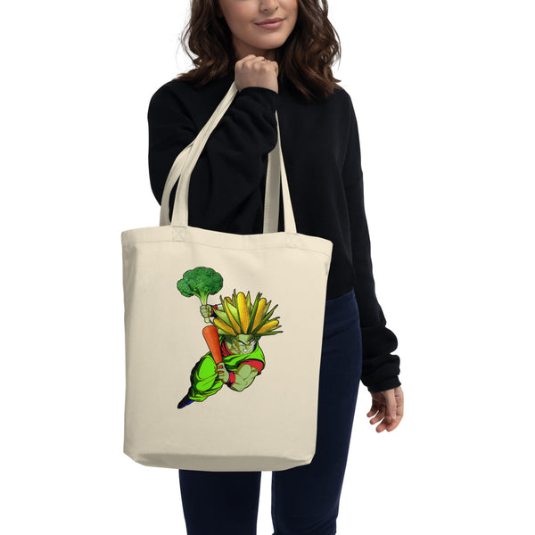 '' super vegan corn'' Eco Tote Bag - vegan-styles