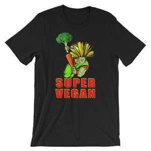 """Super Vegan"" T-Shirt - vegan-styles"