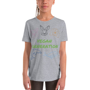 Youth Short Sleeve T-Shirt - vegan-styles
