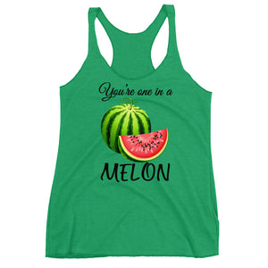 """ You're One In a elonWomen's Racerback Tank - vegan-styles"