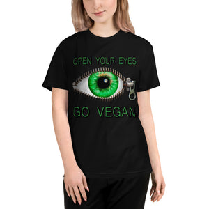 """Open Your Eyes"" Unisex Eco Tee - vegan-styles"