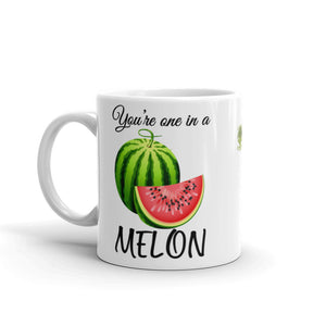 """ You're One In a Melon"" Mug - vegan-styles"