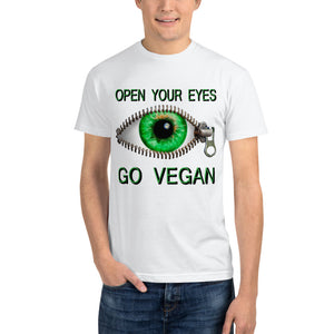 """Open Your Eyes"" Sustainable T-Shirt - vegan-styles"