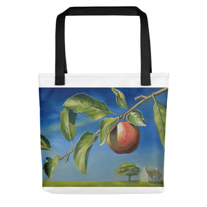 """ Apple"" Tote bag - vegan-styles"
