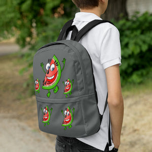 '' happy watermelon'' Backpack - vegan-styles