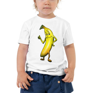 '' Mr Banana'' Toddler Short Sleeve Tee - vegan-styles