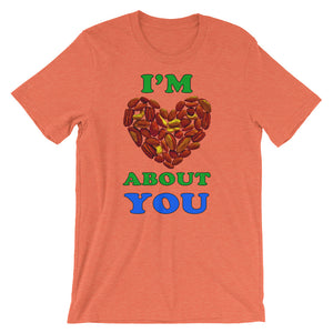 """I'm Nuts About You"" T-Shirt - vegan-styles"