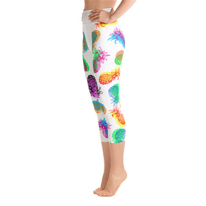 Yoga Capri Leggings - vegan-styles