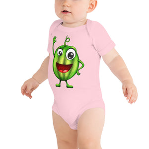 '' Happy Watermelon''  Baby Bodysuit kids - vegan-styles