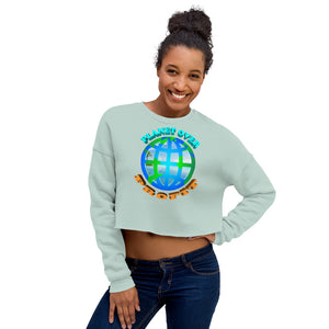 Crop Sweatshirt - vegan-styles