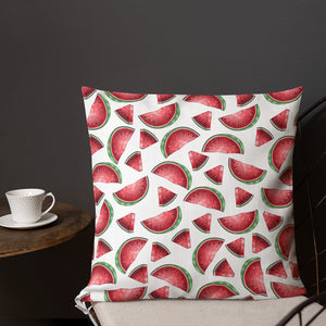 '' Watermelon'' Premium Pillow - vegan-styles