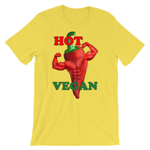 """Hot Vegan"" T-Shirt - vegan-styles"
