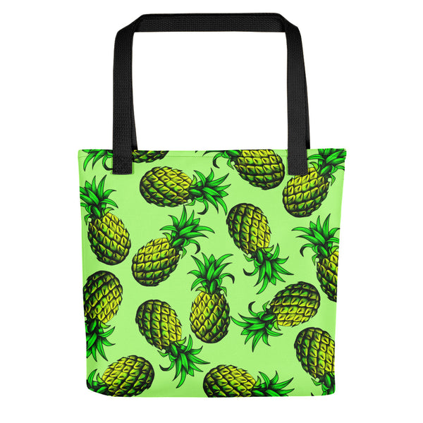 '' Green pineapples'' Tote bag - vegan-styles