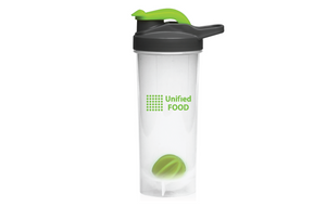 Unified Food starter kit. Shaker and 8 U-Food pouches - 2000 calories - vegan-styles