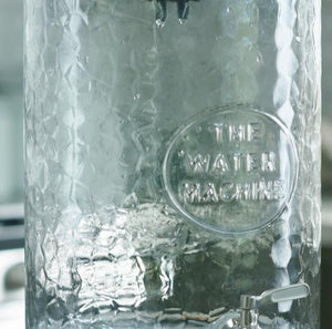 The Water Machine Water As Nature Intended - All-Glass, Gravity-fed, Counter-top Water Purifier - vegan-styles