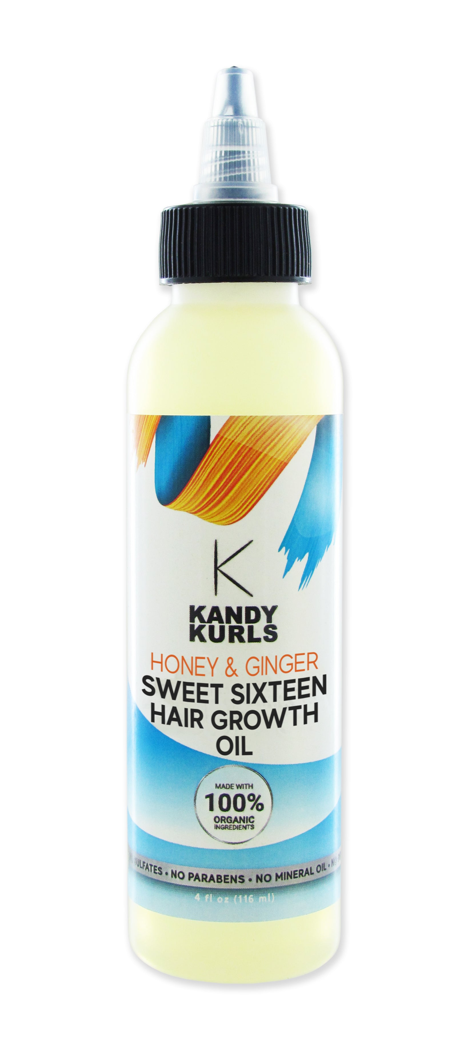 KANDY KURLS HONEY & GINGER SWEET SIXTEEN HAIR GROWTH OIL