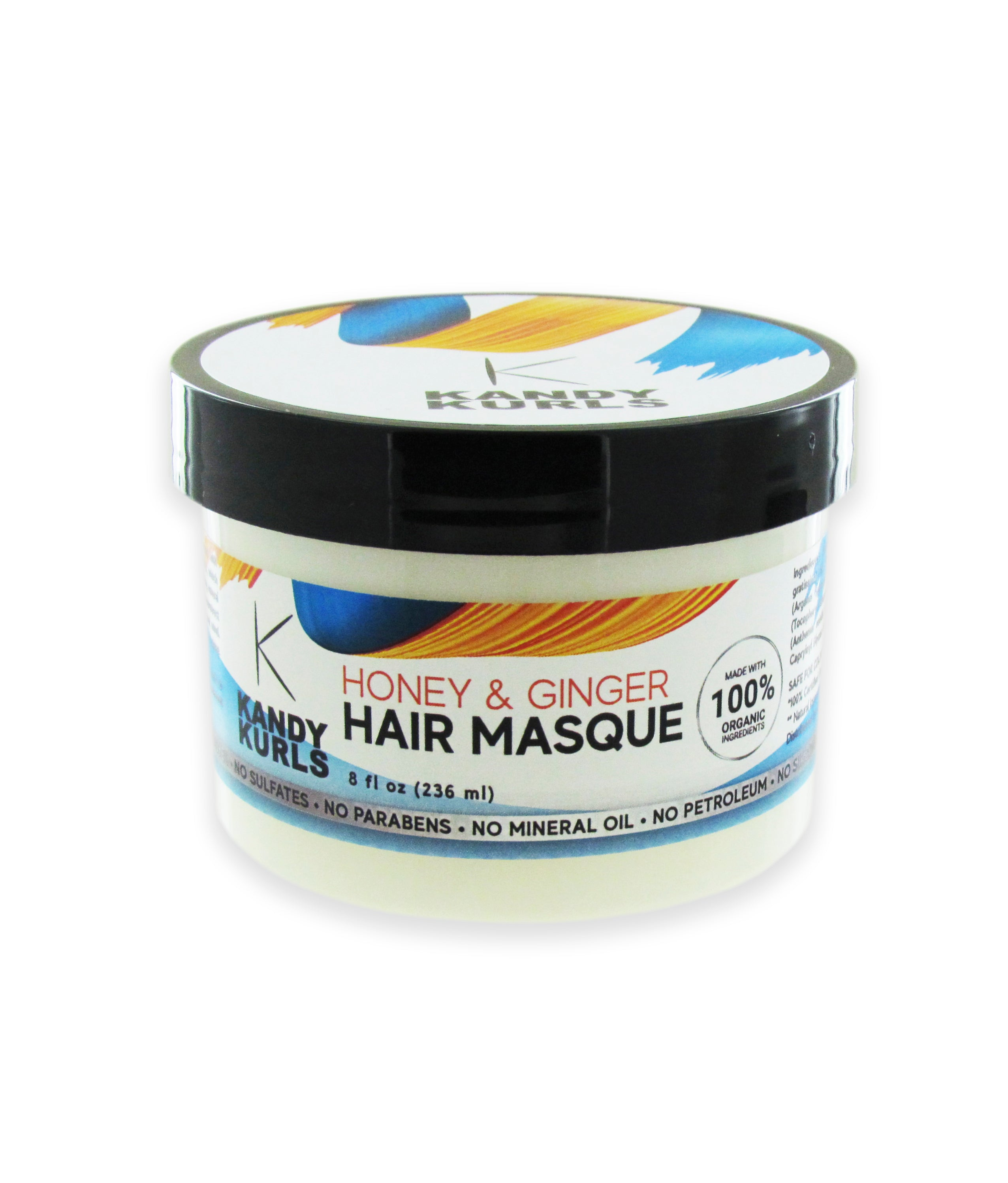 KANDY KURLS HONEY & GINGER HAIR MASQUE