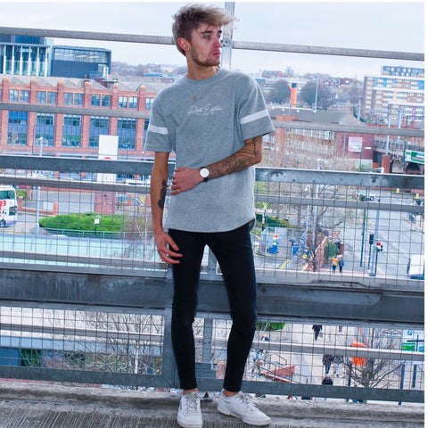 Signature Grey Sweater Tee