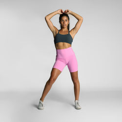 Dusty Pink Bike Shorts - WDCS | Widesthetics