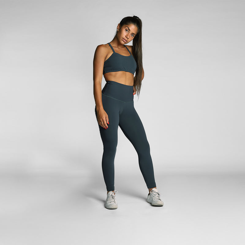 Darkgrey Sports Bra - WDCS | Widesthetics