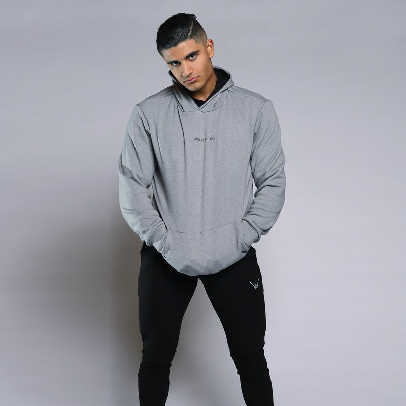 Cozy Shadow Grey Hoodie - WDCS | Widesthetics