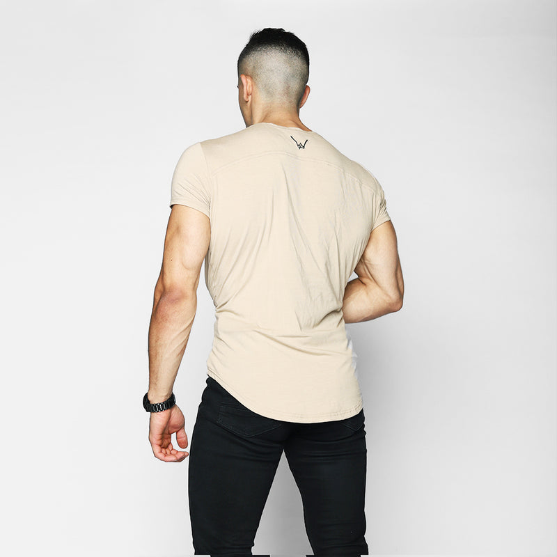 Moka Scoop Neck Shirt - WDCS | Widesthetics