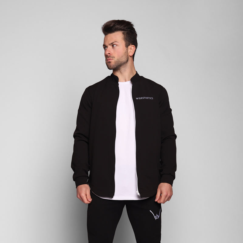 Black Scuba Jacket - WDCS | Widesthetics