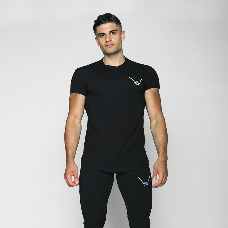 Black Fitted Shirt - WDCS | Widesthetics