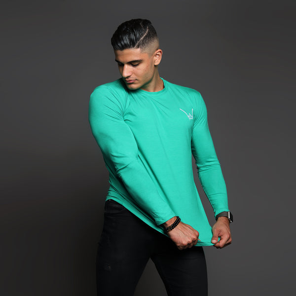 Bamboo Embroidered LS Urban Evergreen Shirt - WDCS | Widesthetics
