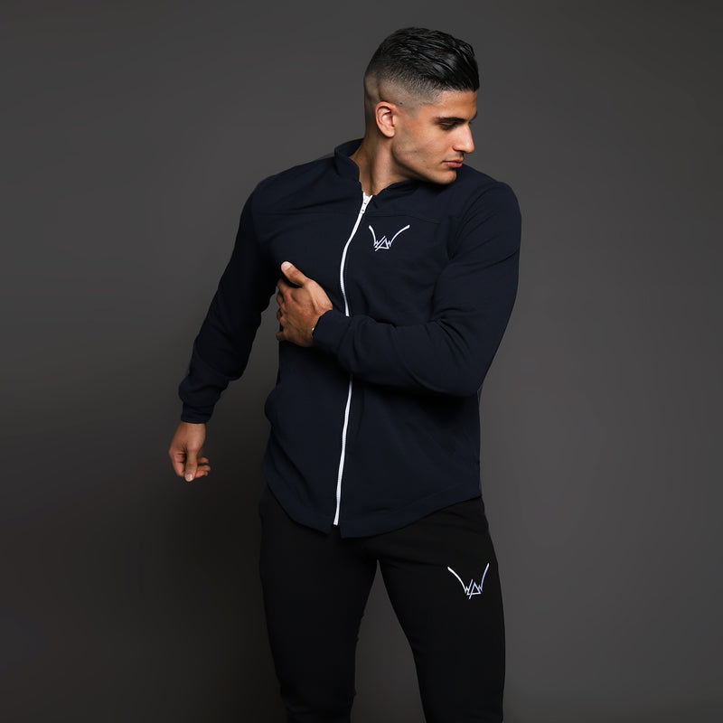 Navy Athletics Scuba Coat - WDCS | Widesthetics