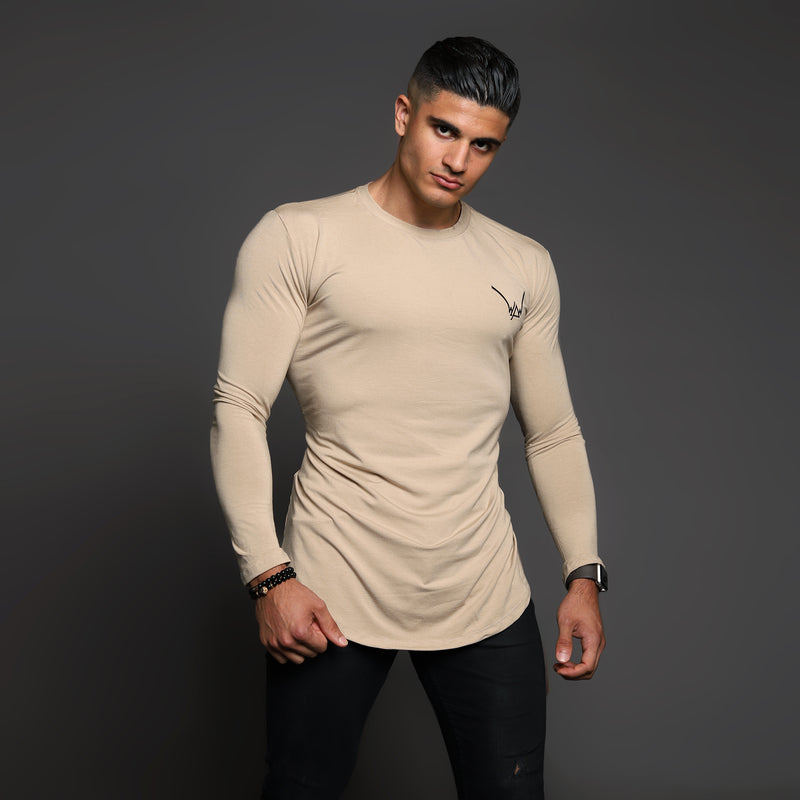 Bamboo Embroidered LS Urban Moka Shirt - WDCS | Widesthetics