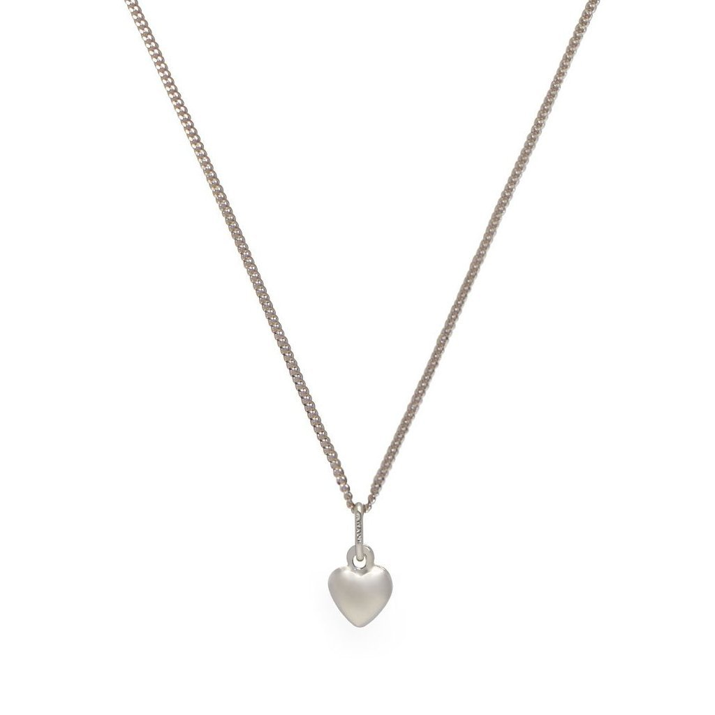 Heart + 18'' Curb Chain - Mile End Jewelry