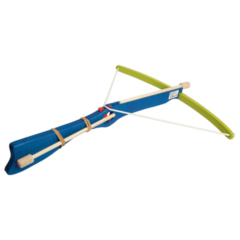Wooden Large Crossbow - Blue