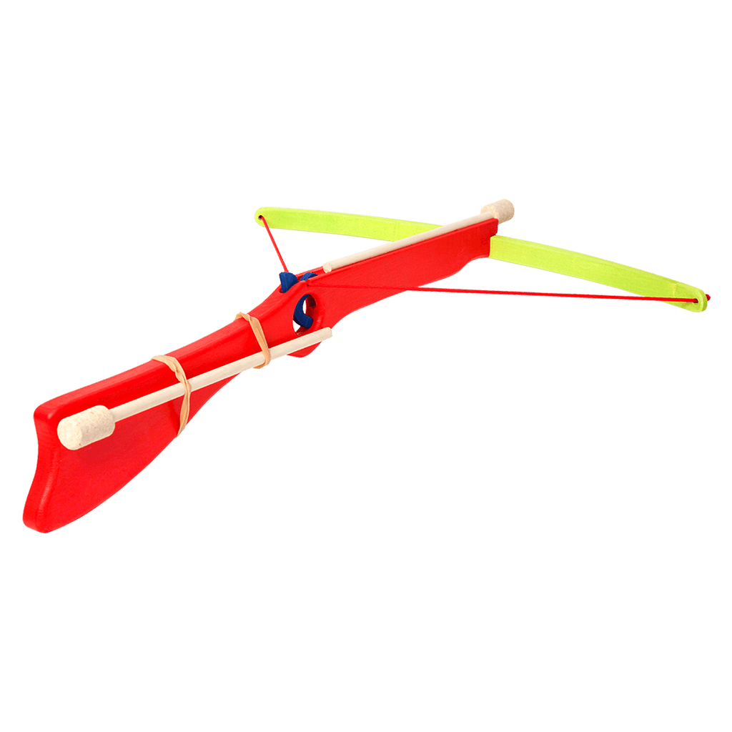 Wooden Large Crossbow - Red