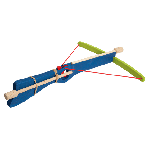 Wooden Medium Crossbow - Blue