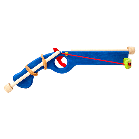 Wooden Small Crossbow - Blue