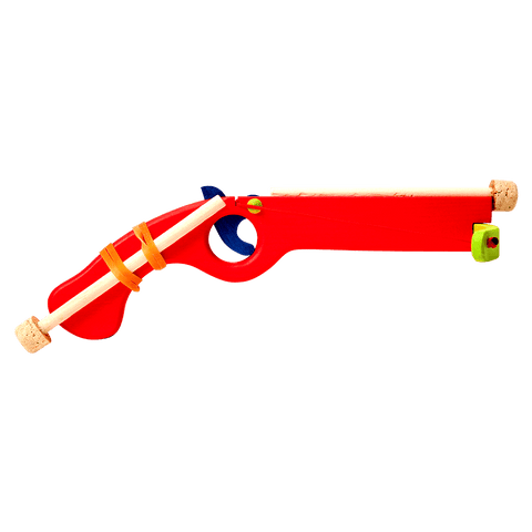 Wooden Small Crossbow - Red