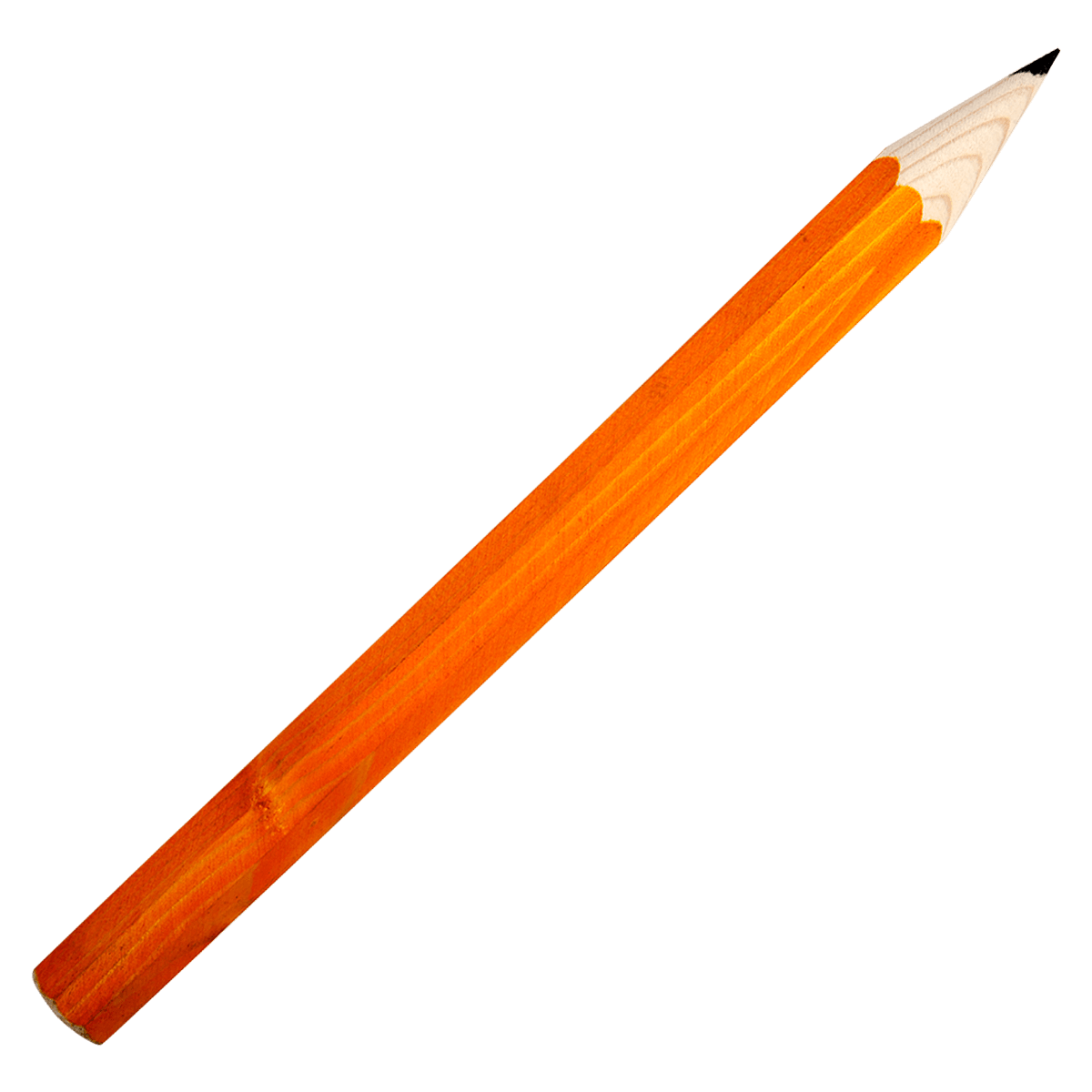 Giant Orange Pencil